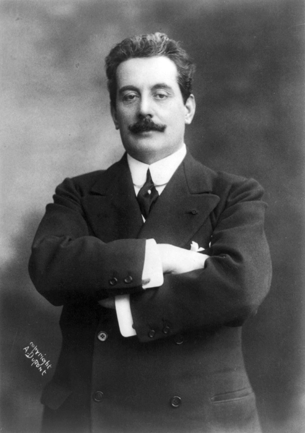 <center>Giacomo Puccini</center>