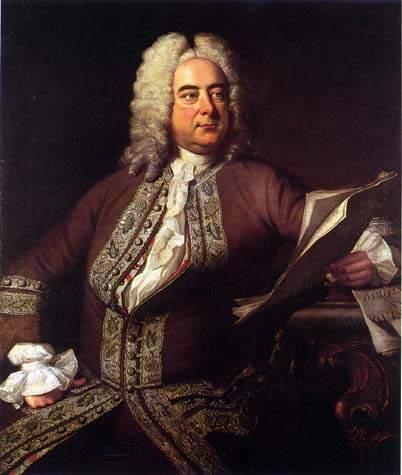 <center>George Friedrich Handel</center>